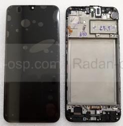 Дисплей (экран) Samsung Galaxy M30s M307 с рамкой Black Super AMOLED, GH82-21265A (сервисный оригинал), radan-osp.com - оригинальные комплектующие, фото