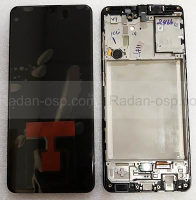Дисплей экран Samsung Galaxy A31 A315 с рамкой Super AMOLED, GH82-22761A (сервисный оригинал)