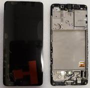 Дисплей екран Samsung Galaxy A41 A415 з рамкою Super AMOLED, GH82-22860A (сервісний оригінал)