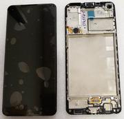 Дисплей экран Samsung Galaxy A21s A217 с рамкой, GH82-22988A (сервисный оригинал)