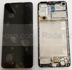 Дисплей экран Samsung Galaxy A21s A217 с рамкой, GH82-22988A (сервисный оригинал), radan-osp.com - оригинальные комплектующие, фото