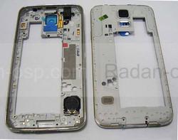 Средняя часть корпуса Samsung G900F Galaxy S5, GH96-07236B (оригинал), radan-osp.com - оригинальные комплектующие, фото