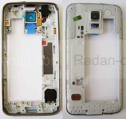 Задняя часть корпуса в сборе с полифоническим динамиком (Black) Samsung G900H/ G900F, GH96-07249B (оригинал), radan-osp.com - оригинальные комплектующие, фото