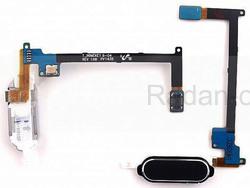 Кнопка home в сборе со шлейфом Samsung N910C/ N910H (Black), GH96-07432A (оригинал), radan-osp.com - оригинальные комплектующие, фото