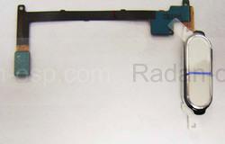 Кнопка home в сборе со шлейфом Samsung N910C/ N910H (White), GH96-07432B (оригинал), radan-osp.com - оригинальные комплектующие, фото