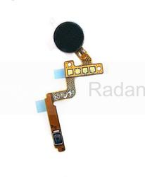 Шлейф с кнопкой включения и вибромотором Samsung N910C Galaxy Note 4, GH96-07465A (оригинал), radan-osp.com - оригинальные комплектующие, фото