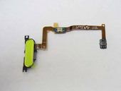 Кнопка Home (толкатель) в сборе на шлейфе (White) Samsung G850F Galaxy Alpha, GH96-07489B (оригинал)