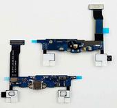 Шлейф с микрофоном (модуль) Samsung N910C/ G900H, GH96-07525A (оригинал)