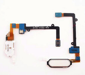Samsung N915F Кнопка Home (толкатель) на шлейфе (White), GH96-07567B (оригинал)