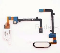 Samsung N915F Кнопка Home (толкатель) на шлейфе (White), GH96-07567B (оригинал), radan-osp.com - оригинальные комплектующие, фото