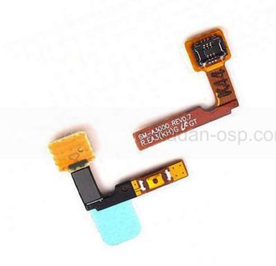 Кнопка включения (подложка) Samsung A300H Galaxy A3, GH96-07716A (оригинал)