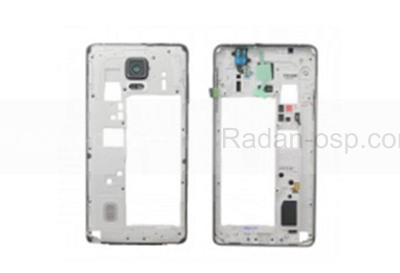 Задняя часть корпуса в сборе Samsung N910H Galaxy Note 4 (White), GH96-07806A (оригинал)