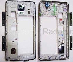 Задняя часть корпуса в сборе Samsung N910H/ N910C (Black), GH96-07806B (оригинал), radan-osp.com - оригинальные комплектующие, фото