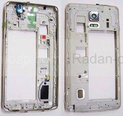 Задняя часть корпуса в сборе Samsung N910H/ N910C (Gold), GH96-07806C (оригинал), radan-osp.com - оригинальные комплектующие, фото