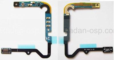 Шлейф верхний на плате (контакты акб, разъем коаксиального кабеля) Samsung E500H Galaxy E5, GH96-08023A (оригинал)