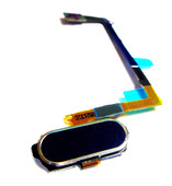 Шлейф с кнопкой Home Samsung G920F Galaxy S6 (Black), GH96-08166B (оригинал)