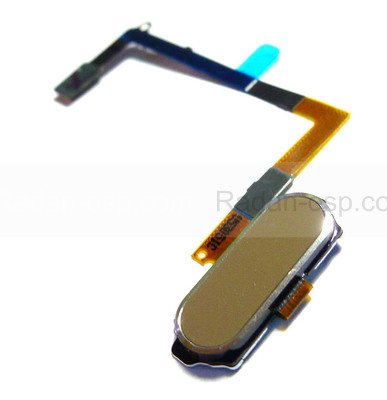 Шлейф с кнопкой Home Samsung G920F Galaxy S6 (Gold), GH96-08166C (оригинал)