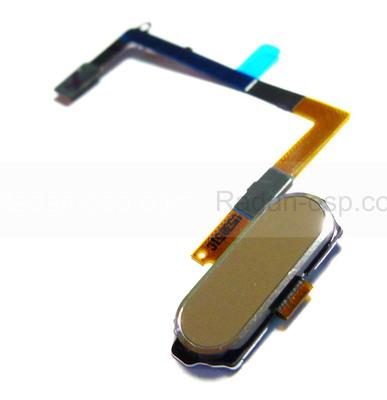 Шлейф с кнопкой Home Samsung G920F Galaxy S6 (Gold), GH96-08166C (оригинал)