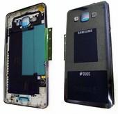 Задняя внутренняя часть корпуса Samsung A500H Galaxy A5 (Black, Silver), GH96-08181B (оригинал)