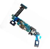 Разъем MicroUSB Samsung G920 Galaxy S6 (на шлейфе с микрофоном) Black, White, GH96-08275A (оригинал)