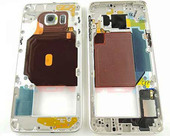 Задняя часть корпуса Samsung Galaxy S6 Edge Plus G928F (Gold) в сборе, GH96-09079A (оригинал)