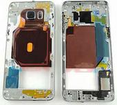 Задняя часть корпуса Samsung Galaxy S6 Edge Plus G928F (Black) в сборе, GH96-09079B (оригинал)