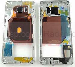 Задняя часть корпуса Samsung Galaxy S6 Edge Plus G928F (Black) в сборе, GH96-09079B (оригинал), radan-osp.com - оригинальные комплектующие, фото