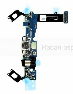 Шлейф с разъемом аудио и USB Samsung Galaxy A5 A510 Duos 2016 на плате, GH96-09381A (оригинал)