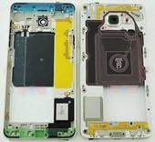 Средняя часть корпуса Samsung Galaxy A5 A510 Duos 2016 Gold, GH96-09392A (оригинал)