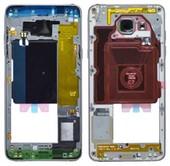 Средняя часть корпуса Samsung Galaxy A5 A510 Duos 2016 Black, GH96-09392B (оригинал)