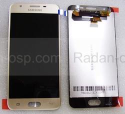 Дисплей с сенсором Samsung SM-G570F Galaxy J5 Prime Gold, GH96-10324A (оригинал), radan-osp.com - оригинальные комплектующие, фото