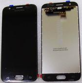Дисплей с сенсором (тачскрином) Samsung Galaxy J3 J330 (2017) Black, GH96-10969A (оригинал)