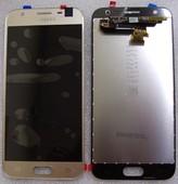 Дисплей с сенсором (тачскрином) Samsung Galaxy J3 J330 (2017) Gold, GH96-10990A (оригинал)