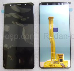 Дисплей с сенсором Samsung Galaxy A7 (2018) A750 (Black) Super AMOLED, GH96-12078A (оригинал), radan-osp.com - оригинальные комплектующие, фото