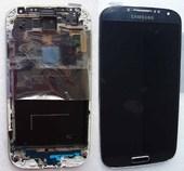 Samsung I9500 Galaxy S4 Сенсор с дисплеем в сборе black, GH97-14630B (оригинал)