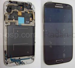 Samsung I9500 Galaxy S4 Сенсор с дисплеем в сборе Deep black-Black Edition, GH97-14630L (оригинал), radan-osp.com - оригинальные комплектующие, фото
