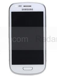 Сенсорная панель в сборе с дисплеем Samsung I8200Galaxy S3 mini VE (Ceramic White), GH97-15508A (оригинал), radan-osp.com - оригинальные комплектующие, фото