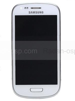 Сенсорная панель в сборе с дисплеем Samsung I8200Galaxy S3 mini VE (Ceramic White), GH97-15508A (оригинал)