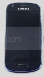 Сенсорная панель в сборе с дисплеем Samsung I8200Galaxy S3 mini VE (Metallic Blue), GH97-15508B (оригинал), radan-osp.com - оригинальные комплектующие, фото