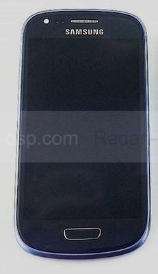 Сенсорная панель в сборе с дисплеем Samsung I8200Galaxy S3 mini VE (Metallic Blue), GH97-15508B (оригинал)