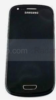 Сенсорная панель в сборе с дисплеем Samsung I8200Galaxy S3 mini VE (Onyx Black), GH97-15508C (оригинал)