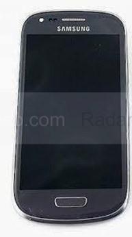 Сенсорная панель в сборе с дисплеем Samsung I8200Galaxy S3 mini VE (Titan Gray), GH97-15508D (оригинал)