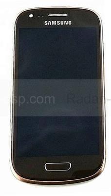 Сенсорная панель в сборе с дисплеем Samsung I8200Galaxy S3 mini VE (Brown), GH97-15508E (оригинал)