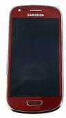 Сенсорная панель в сборе с дисплеем Samsung I8200Galaxy S3 mini VE (Garnet Red), GH97-15508F (оригинал)