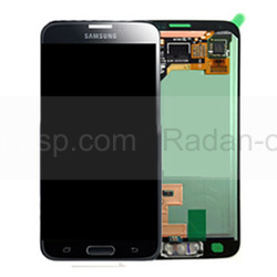 Дисплей в сборе с сенсорной панелью, черный Samsung G800H Galaxy S5 mini DUOS (Black/ Blue), GH97-16147A (оригинал), radan-osp.com - оригинальные комплектующие, фото