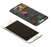 Дисплей в сборе с сенсорной панелью, белый Samsung G800H Galaxy S5 mini DUOS (White), GH97-16147B (оригинал)