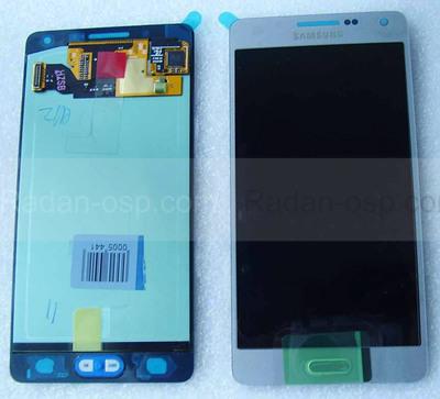 Дисплей с сенсором Samsung A500H Galaxy A5 (Silver), GH97-16679C (оригинал)