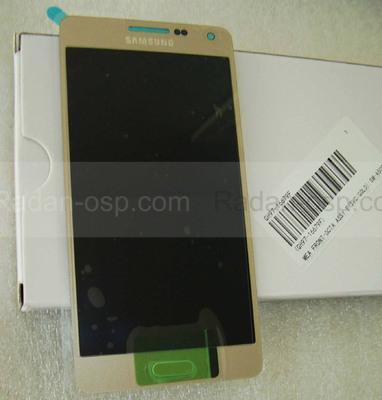 Дисплей с сенсором Samsung A500H Galaxy A5 (Gold), GH97-16679F (оригинал)