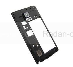 Средняя часть корпуса в сборе Samsung N915F Galaxy Note Edge (Black), GH97-16721B (оригинал), radan-osp.com - оригинальные комплектующие, фото