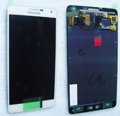 Дисплей с сенсором в сборе Samsung A700H Galaxy A7 (White), GH97-16922A (оригинал)